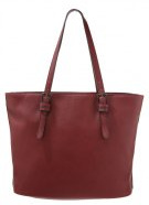 Shopping bag - garnet red