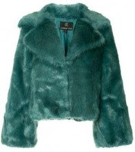 - Unreal Fur - Madam Butterfly jacket - women - fibra sintetica - XL, S, L - di colore verde