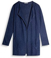 edc by Esprit 087cc1i038, Cardigan Donna, Blu (Navy 400), X-Small