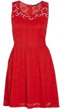 Morgan 141-ROLA.N, Vestito Donna, Rosso (Rouge Party), S