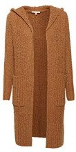 ESPRIT 118ee1i023, Cardigan Donna, Marrone (Camel 5 234), X-Small