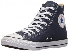 Converse All Star Hi Canvas, Sneakers Unisex Adulto, Blu (Navy/White), 35 EU