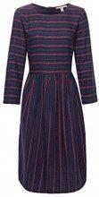 ESPRIT 108ee1e016, Vestito Donna, (Navy 400), 50 (Taglia Produttore: 44)
