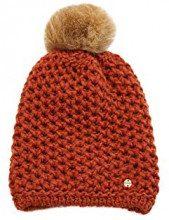 ESPRIT Accessoires 108ea1p013, Cuffia Donna, Arancione (Terracotta 805), Unica (Taglia Produttore: 1SIZE)