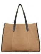 QUEBEC - Shopping bag - light/pastel brown