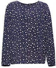 ESPRIT 098ee1f028, Camicia Donna, (Navy 400), 46 (Taglia Produttore: 40)