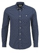 SLIM FIT - Camicia - dunkelblau