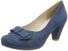 Andrea Conti 1005718, Scarpe col Tacco Punta Chiusa Donna, Blu (Jeans 274), 37 EU