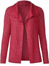 Street One 252736, Cardigan Donna, Rot (Pure Red 11496), 50