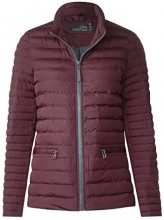 Cecil 201136, Cappotto Donna, Violett (Deep Plum 21297), X-Small