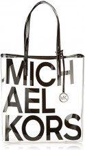 Michael Kors The Bag - Borse Tote Donna, Nero (Black), 18x10x28 cm (W x H x L)