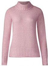 Street One 300724, Maglione Donna, Pink (Cosy Rose Melange 11499), 44