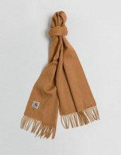 Clan - Sciarpa di lana color daino