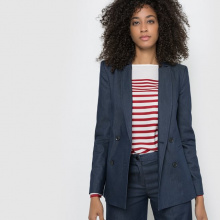 Giacca tailleur in denim