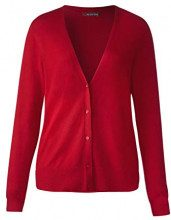Street One 252717, Cardigan Donna, Rot (Pure Red 11496), 52