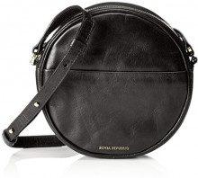 Royal RepubliQ Round Evening Bag, Donna Borse a spalla, Nero (Black) 5.5x18x18 cm (B x H x T)