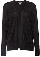 ESPRIT 088ee1i026, Cardigan Donna, Nero (Black 001), X-Small