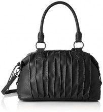 Sansibar Zip Bag - Borse a secchiello Donna, Schwarz (Black), 20x18x42 cm (B x H T)