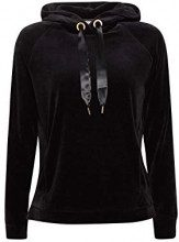 edc by Esprit 118cc1j001, Felpa Donna, Nero (Black 001), X-Large