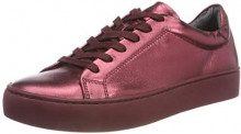 Vagabond Zoe, Sneaker Donna, Marrone (Wine Metal 81), 41 EU