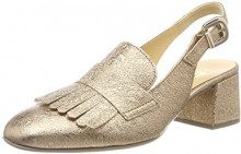 Gabor Shoes Basic, Scarpe con Tacco Donna, Beige (Space), 39 EU