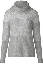 Cecil 300715, Maglione Donna, Mehrfarbig (Mineral Grey Melange 30327), Small
