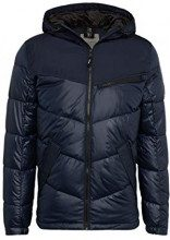 Tom Tailor Denim Outdoor Jacke mit Modischer Breiter Steppung, Giacca Uomo, Blu (Sky Captain Blue 10668), X-Large