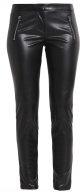 HEDINA - Pantaloni di pelle - black