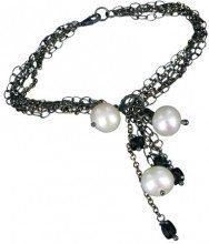 Jane Davis JDJMS001 - Bracciale da donna con spinello, argento sterling 925