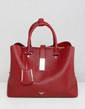 Diella - maxi borsa rossa con tracolla rimovibile