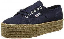 Superga 2790 Cotropew, Sneaker a Collo Basso Donna, Blu (Navy), 37 EU