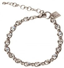 MAGIC FIREBALL - Bracciale - white antique/silver-coloured