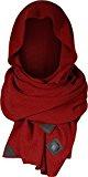 Musterbrand Assassin's Creed Sciarpa a maglia Hansom Super Soft Merino Wool Rosso