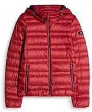 edc by Esprit 087cc1g002, Giacca Donna, Rosso (Dark Red 610), Medium
