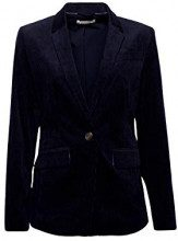 ESPRIT 108ee1g010, Blazer Donna, Blu (Navy 400), 42 (Taglia Produttore: 36)