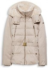 edc by Esprit 097cc1g004, Giacca Donna, (Cream Beige 295), XX-Large