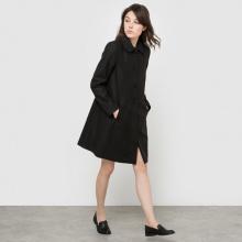 Cappotto stile mantella, tasche