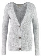 CORE BOYFRIEND - Cardigan - grey white marl