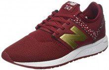 New Balance 247v1, Sneaker Donna, Rosso (NB Scarlet/Gold HC), 40 EU