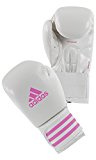 adidas Guantoni da boxe Boxing Glove BOX-FIT, bianco/rosa, 10oz, FPOWER200