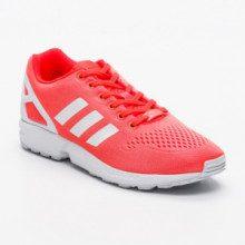 Sneakers - corallo fluo e bianco