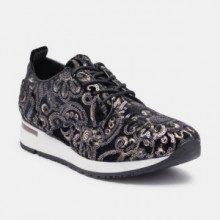 Sneakers - nero - suola: 3 cm