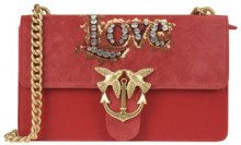 Borsa'Love Leather Crystal'
