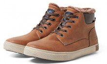 Tom Tailor 5885002, Sneaker a Collo Alto Uomo, Marrone (Rust 00066), 43 EU