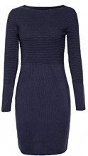 ESPRIT Collection 108eo1e003, Vestito Donna, Blu (Navy 400), Medium