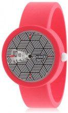 Orologio componibile O' Clock - gomma amaranto - Ø: 32 mm
