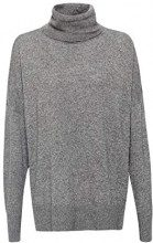 ESPRIT Collection 108eo1i011, Felpa Donna, Grigio (Gunmetal 5 019), X-Small