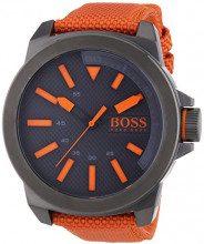 Hugo Boss Orange 1513010 Orologio al quarzo da uomo, display analogico classico e cinturino in nylon