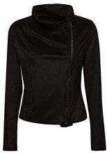 edc by Esprit 118cc1g007, Giacca Donna, Nero (Black 001), Large