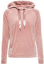 edc by Esprit 118cc1j001, Felpa Donna, Rosa (Light Pink 690), X-Small